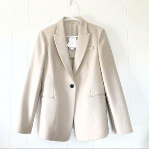 NWT Brunello Cucinelli Wool Cashmere Blend Blazer